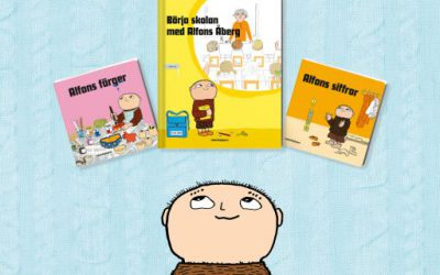 Three new Alfie-books! (in Swedish)